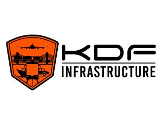 KDF Infrastructure logo design winner