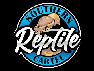 Southern Reptile Cartel  logo design winner