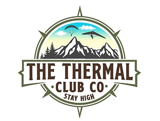 The Thermal Club Co logo design