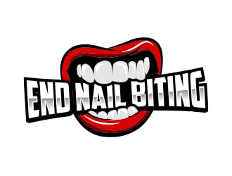 End Nail Biting logo design