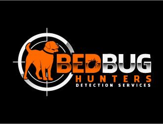 Bed bug Hunters logo design