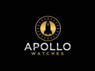 Apollo Watches  logo design