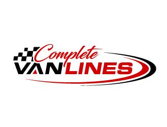 Complete Van Lines logo design