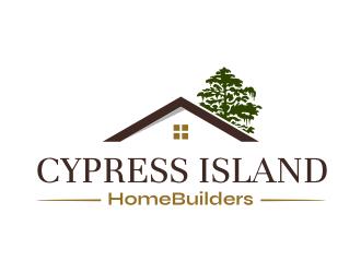 Cypress Island HomeBuilders logo design