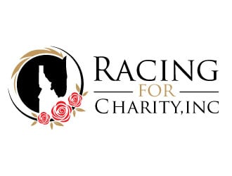 Racing for Charity, Inc. logo design