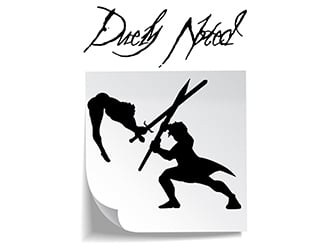 Duely Noted  logo design by PrimalGraphics