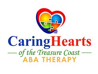 Caring Hearts of The Treasure Coast logo design winner