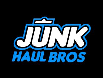 Junk Haul Bros logo design