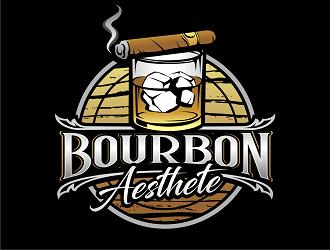 Bourbon Aesthete logo design