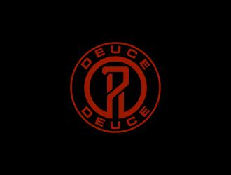 7 Deuce Deuce logo design