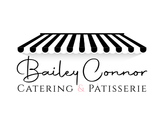 Bailey Connor Catering & Patisserie logo design