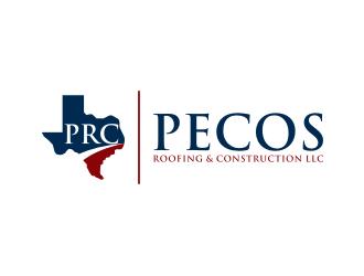 Pecos Roofing & Construction LLC logo design
