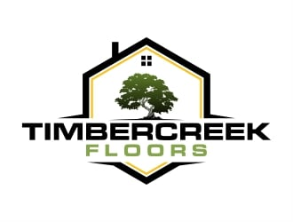 Timbercreek Floors logo design