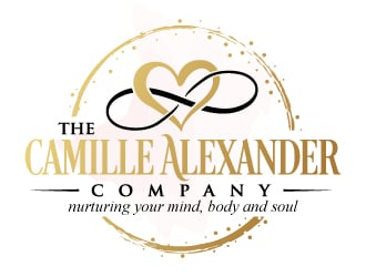 The Camille Alexander Company (nurturing your mind, body and soul) Logo Design