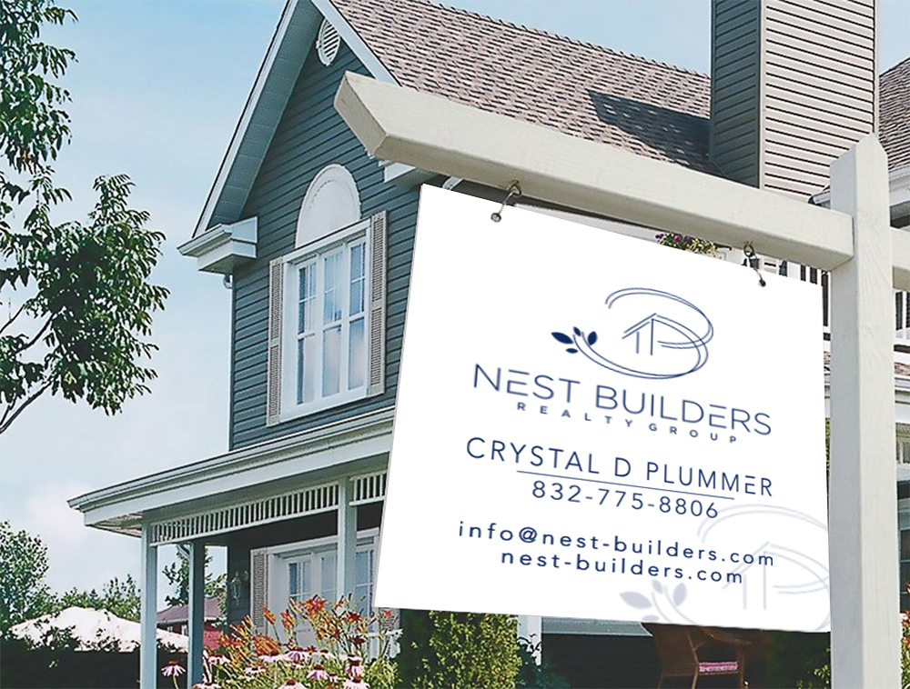 Nest Builders Realty Group logo design by Niqnish