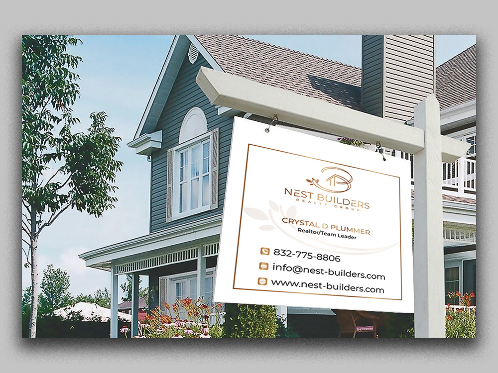 Nest Builders Realty Group logo design by Gelotine