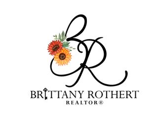 Brittany Rothert logo design