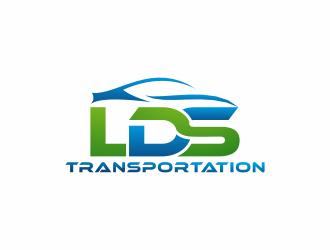 LDS TRANSPORTATION  logo design by kurnia