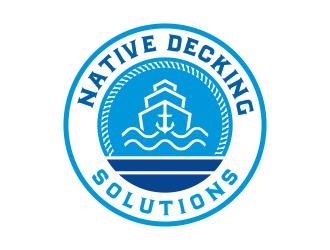 Native Decking Solutions logo design by cikiyunn