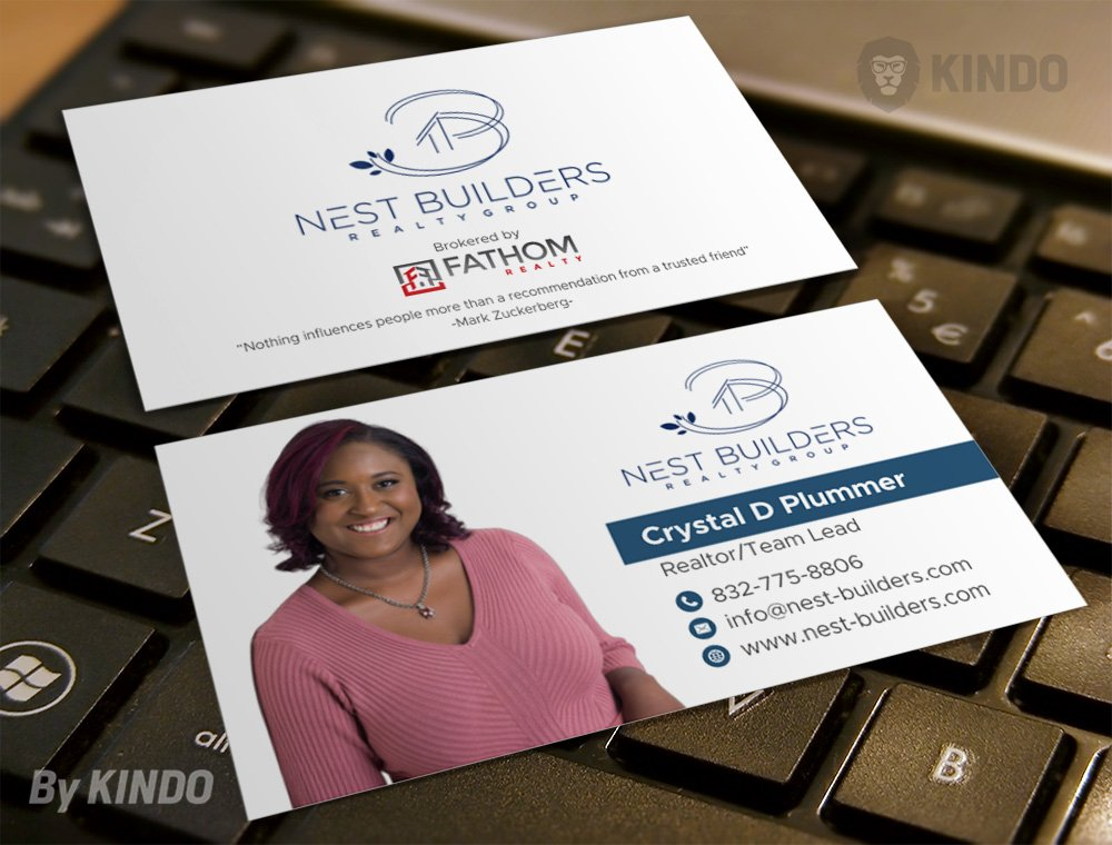 Nest Builders Realty Group logo design by Kindo