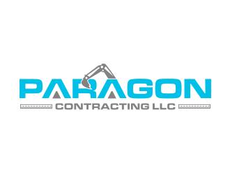 Paragon Contracting LLC logo design