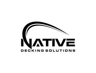 Native Decking Solutions logo design by oke2angconcept
