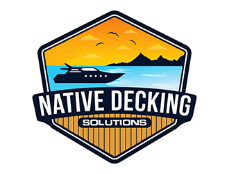 Native Decking Solutions logo design by Optimus