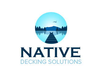 Native Decking Solutions logo design by kunejo
