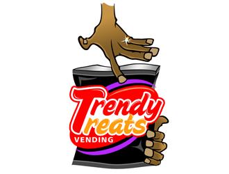 Trendy Teats Vending LLC logo design