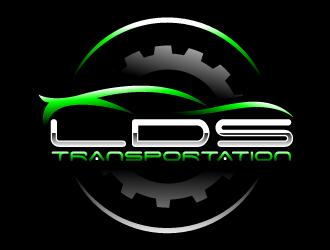 LDS TRANSPORTATION  logo design by Suvendu