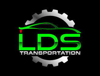 LDS TRANSPORTATION  logo design by daywalker