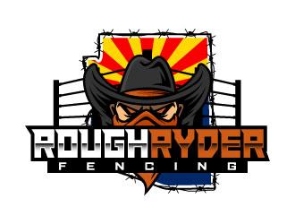 Rough Ryder Fencing logo design