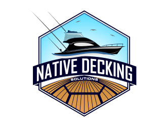 Native Decking Solutions logo design by Dhieko