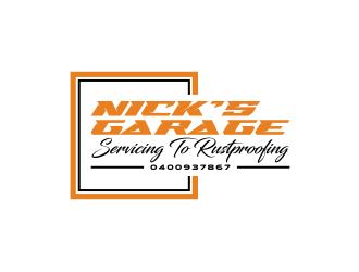 Nick's Garage  logo design by sodimejo