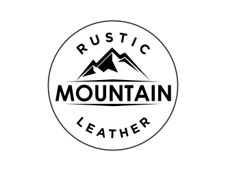 Rustic Mountain Leather logo design