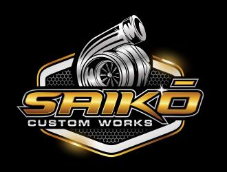 Saikō Custom Works logo design