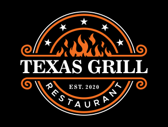 TEXAS GRILL RESTAURANT logo design