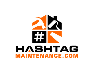 Hashtag Maintenance logo design