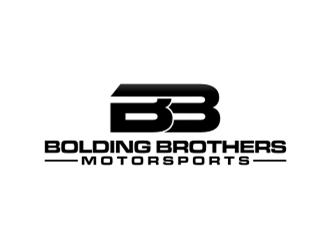 Bolding Brothers Motorsports logo design