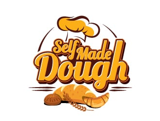 Self Made Dough logo design