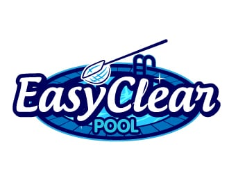 Easy Clear Pool logo design