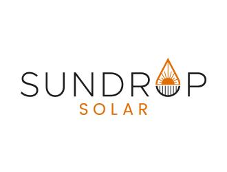 Sundrop Solar logo design