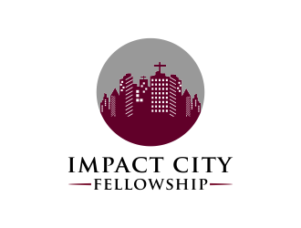 impact city fellowship logo design