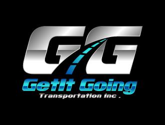 GetIt Going Transportation Inc .  logo design
