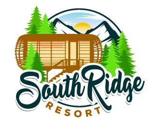 SouthRidge Resort logo design by Suvendu