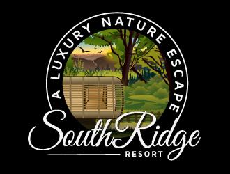 SouthRidge Resort logo design by LucidSketch