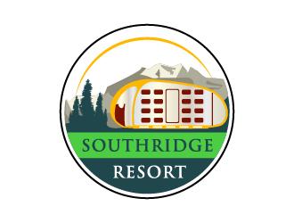 SouthRidge Resort logo design by pilKB