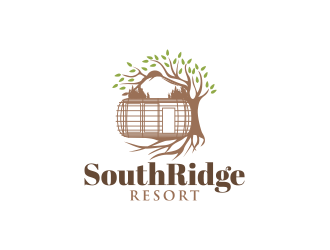 SouthRidge Resort logo design by yippiyproject