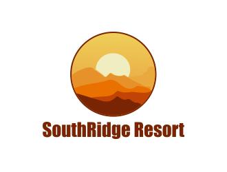 SouthRidge Resort logo design by Greenlight
