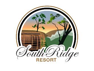 SouthRidge Resort logo design by pollo